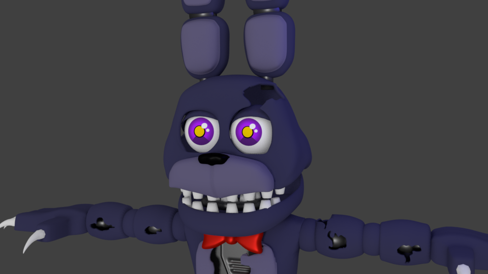 adventure nightmare bonnie finished by austinthebear on. Black Bedroom Furniture Sets. Home Design Ideas