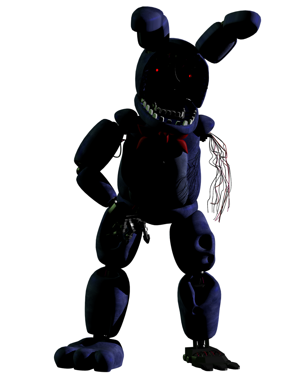 Stylized Withered Bonnie By AustinTheBear On DeviantArt