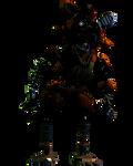 Stylized Phantom Foxy