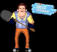 [Blender Internal] Hello Neighbor by AustinTheBear