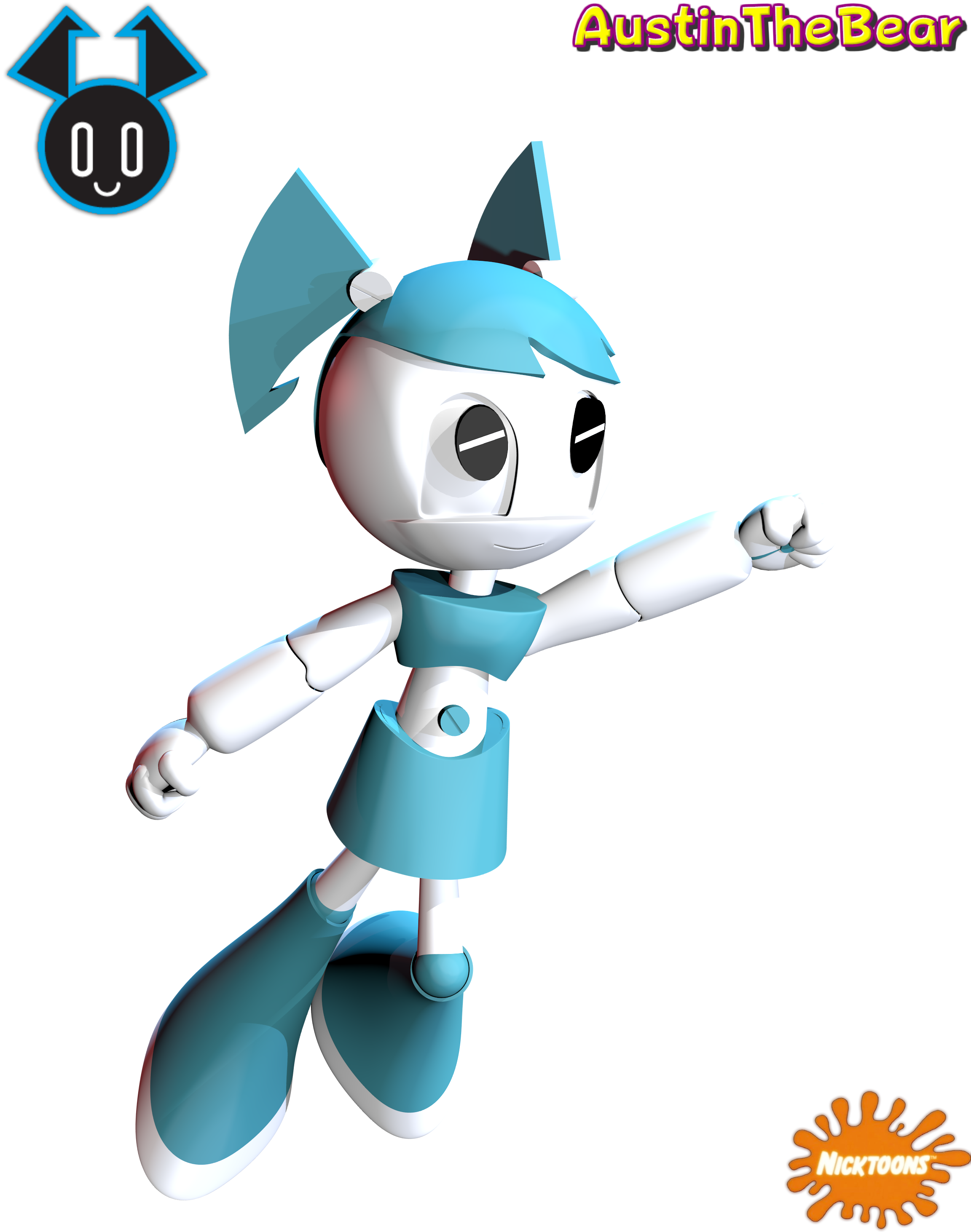 My life as a teenage robot xj9 jenny by austinthebear on for Z tv teenage robot