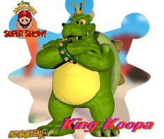 [Blender Internal] King Koopa