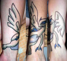 Lugia Tattoo by Snappedragon