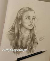 Game of Thrones - Sansa Stark  by Snappedragon