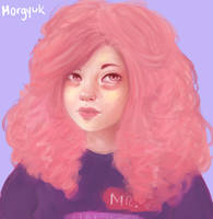 Rose Quartz doodle by morgyuk
