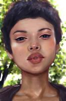 study portrait 2 by morgyuk