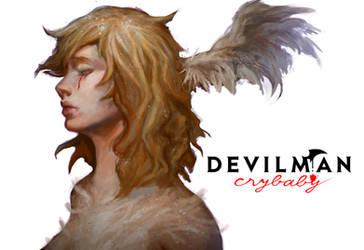 SATAN - Devilman Crybaby by morgyuk