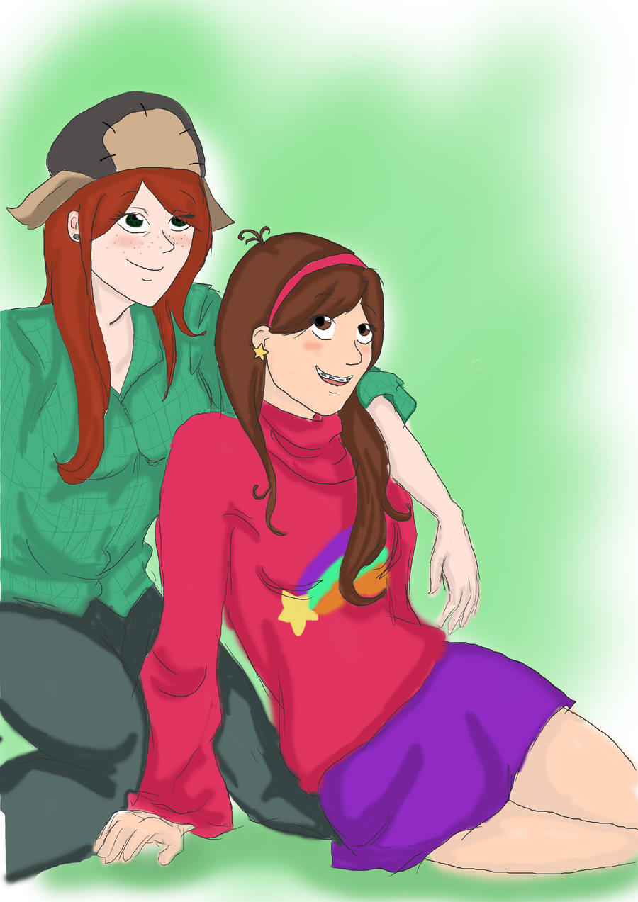 Wendy and Mabel by TsukiUrahara