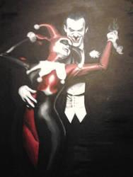 Joker illustration by Bakerthemarc