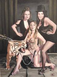 Burlesque Ladies by Bakerthemarc