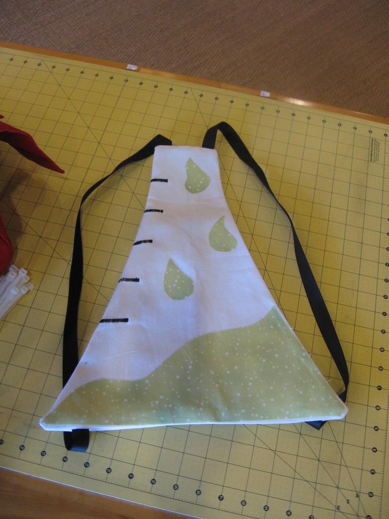 beaker backpack by peaceocake