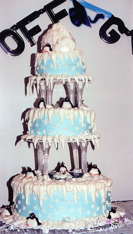 south pole cake by peaceocake