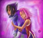 Sakura and Sasuke- Don't Let Go