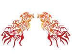 Phoenix Wings Tribal