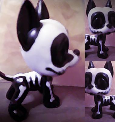 + Jack my skeleton puppy by Mishcolatosa