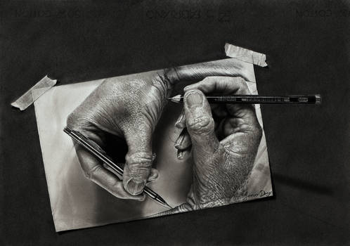 Creation (Escher tribute)
