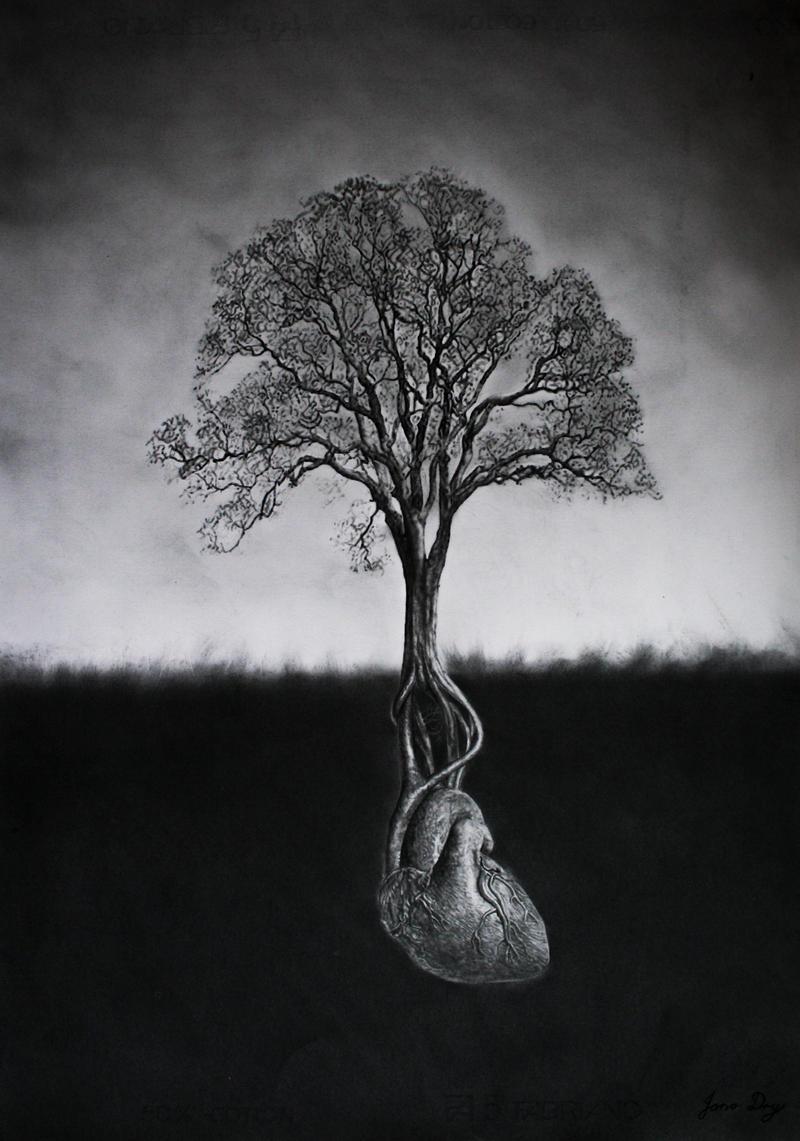 Heart Tree by JonoDry