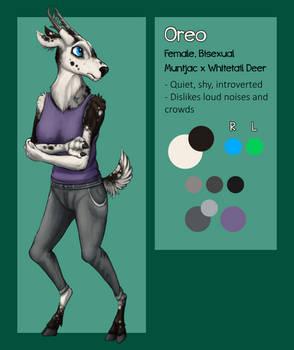 [Comm] Oreo Ref Sheet