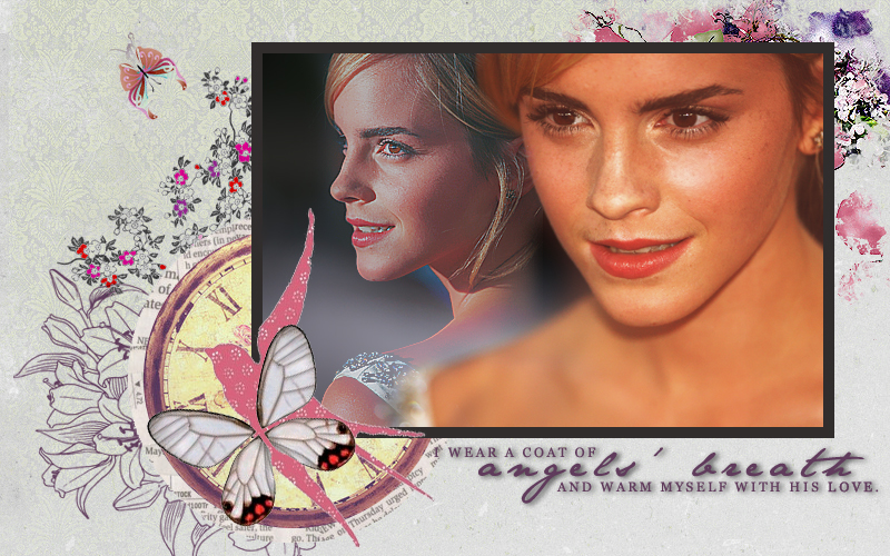 Angels' breath: Emma Watson by pilka3331