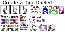 Dice Duels Person Maker by shyamiko