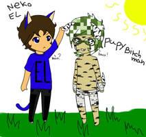 Neko El E Puppy Birch Man by SCvampiretta