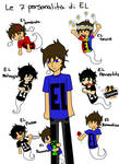 le sette personalita di EL