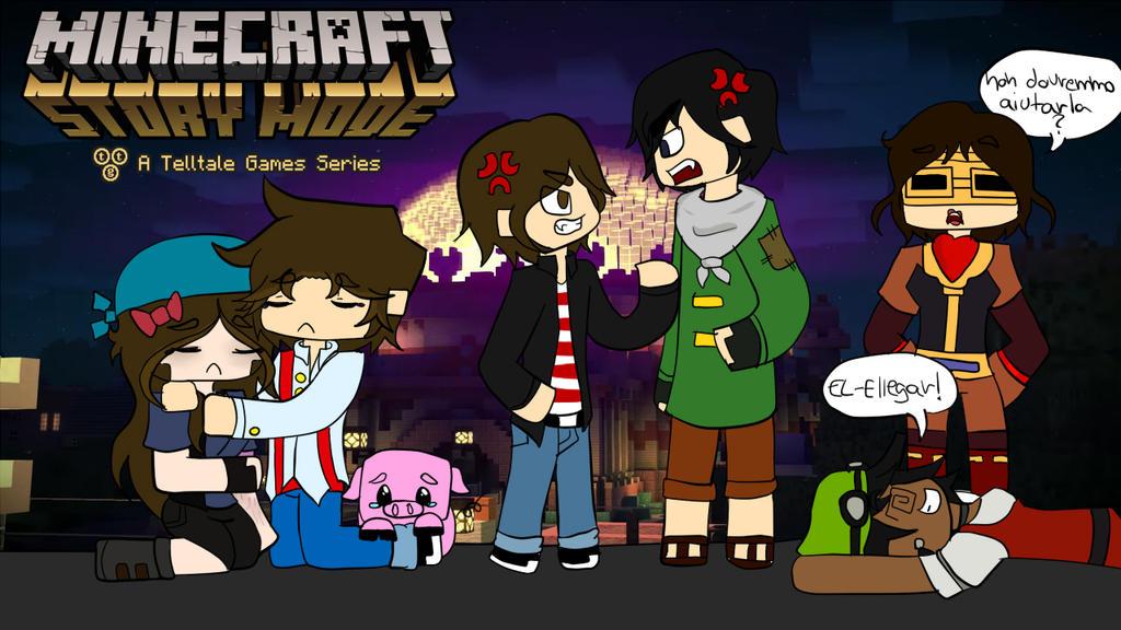 Minecraft Story Mode Ep 2 Eternalove By Scvampiretta On Deviantart