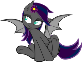 (Vectorized) Midnight Hibiscus Cutiepie by gwennie-chan