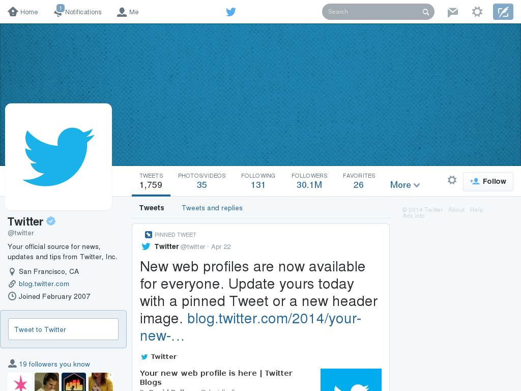 Design For Twitter\'s New UI + Header Template by gwennie-chan on ...