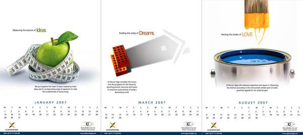Al Ghurair Calendar by creavity