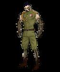 Military guy by Scribbletati