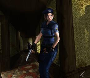 Jill Valentine by Scribbletati