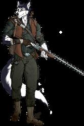 Husky by Scribbletati
