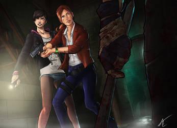 Resident Evil: Revelations 2 by Scribbletati