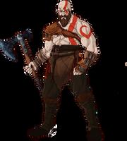 Kratos by Scribbletati