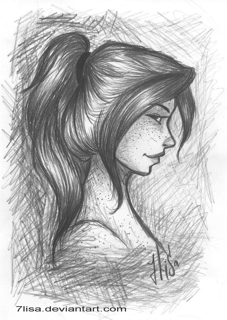 Ginny sketch by 7Lisa