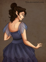 Blue dress by 7Lisa