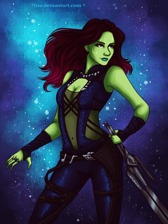 Gamora by 7Lisa on DeviantArt