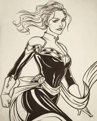 Captain Marvel by 7Lisa