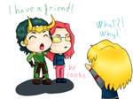 Loki have a friend