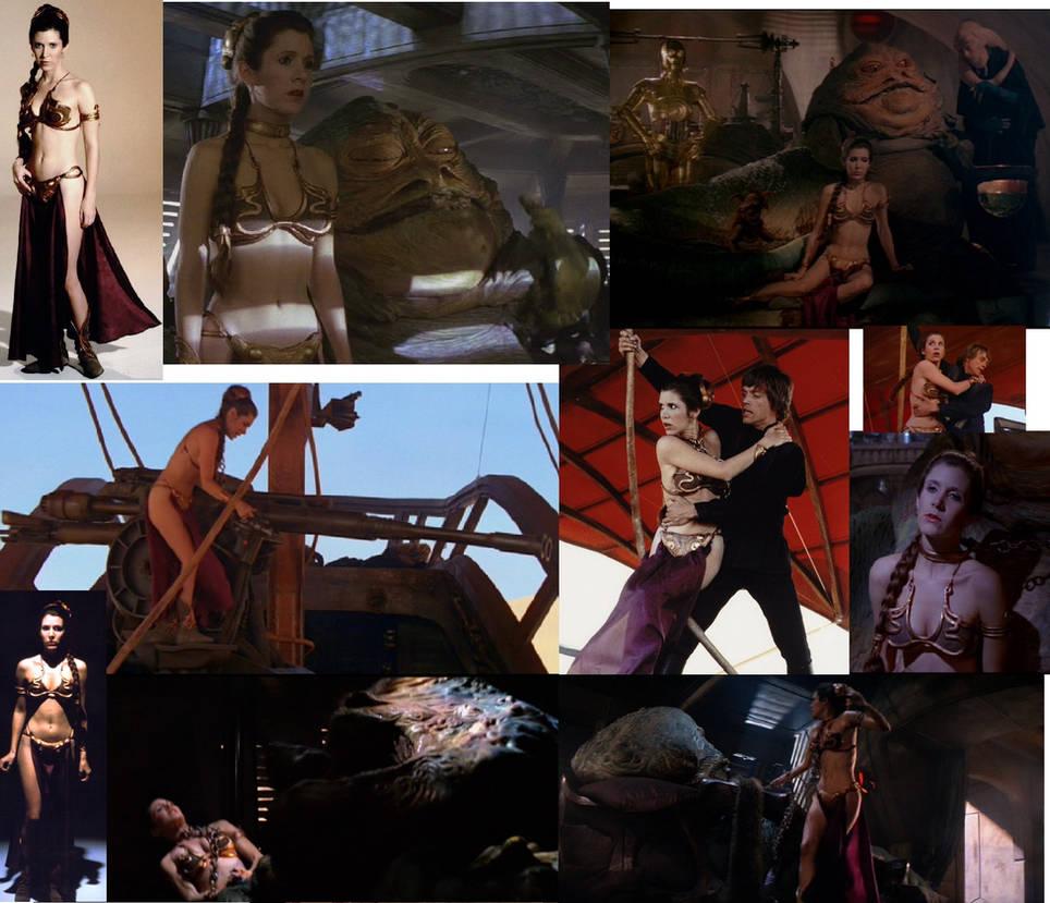 Slave Leia Collage