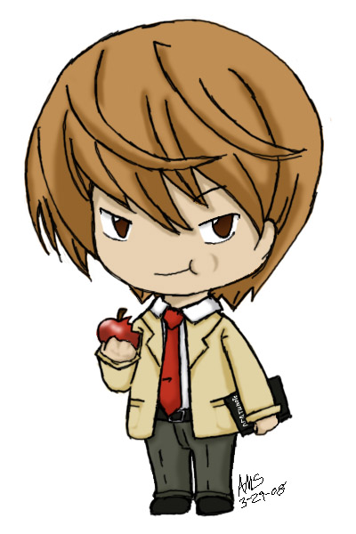 Request- Light Yagami by mandy-kun on DeviantArt