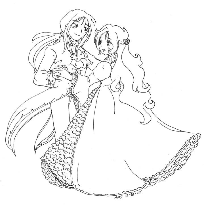 ballroom dancer coloring pages - photo#42