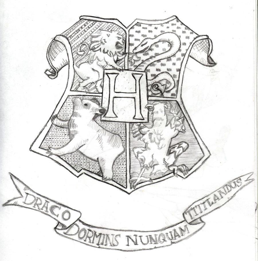 17 unique harry potter hogwarts wappen ausmalbilder
