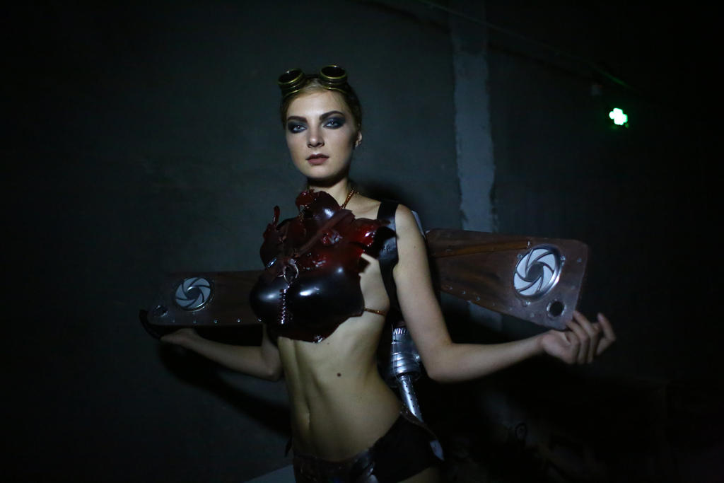Costume for high tech show by LenaCostumes
