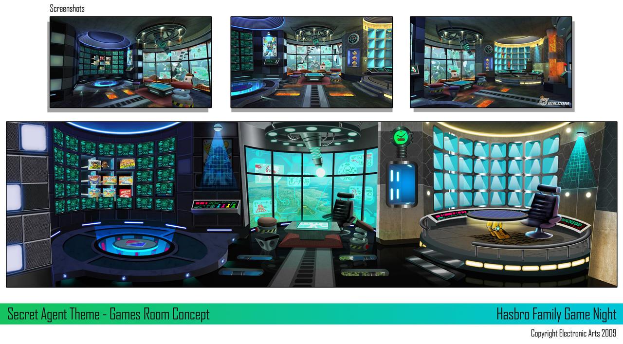 FGN - Secret Agent Room by ArkadeBurt