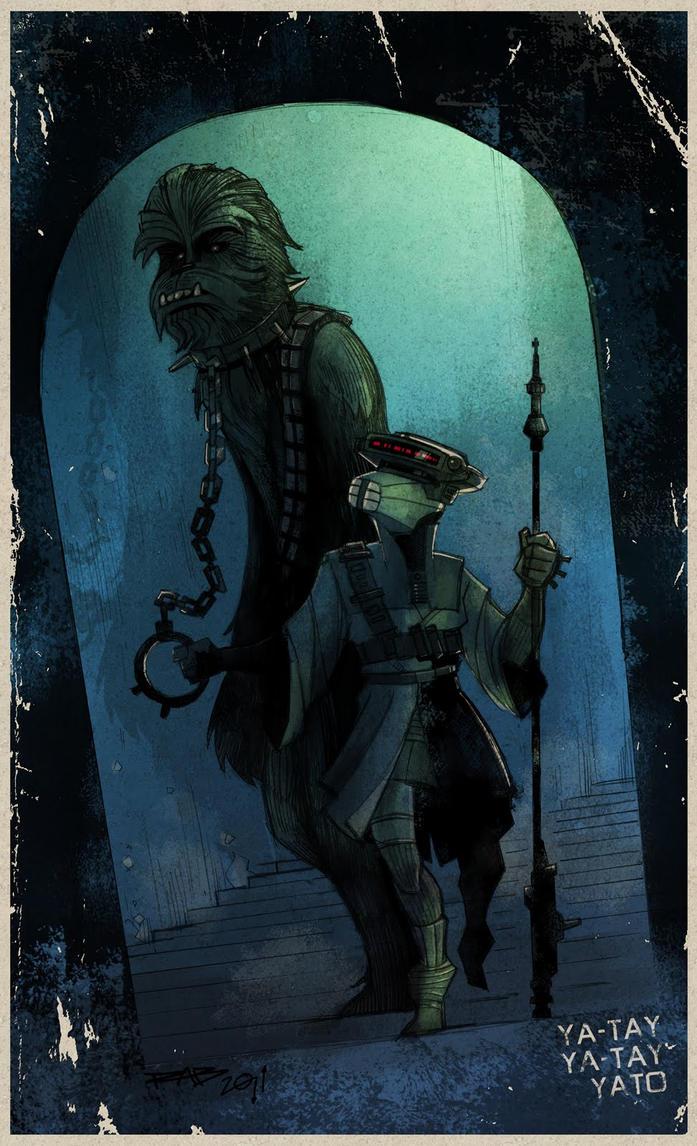 Chewie Boushh by ArkadeBurt