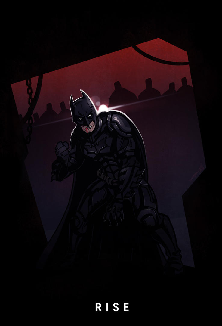 Dark Knight Rises by ArkadeBurt