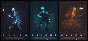 Ripley trilogy by ArkadeBurt