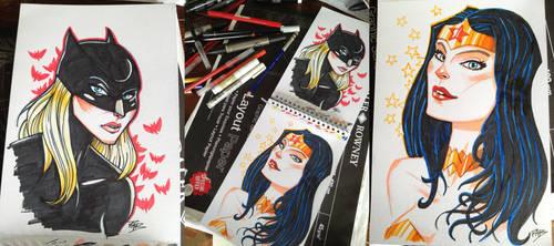 Sketch Girls by ArkadeBurt